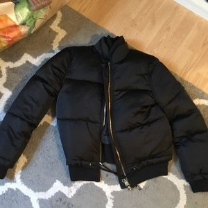 Top bomber jacket